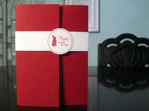Wedding Invitations - Hoppily Ever After